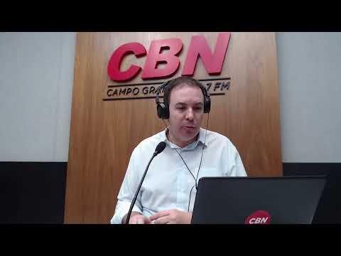 CBN Campo Grande (04/08/2020) - com Ginez Cesar