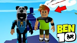 Ben Be 10 Pass the Hard Track! SuperHeroes Track - Roblox Ben 10 Ultimate Obby