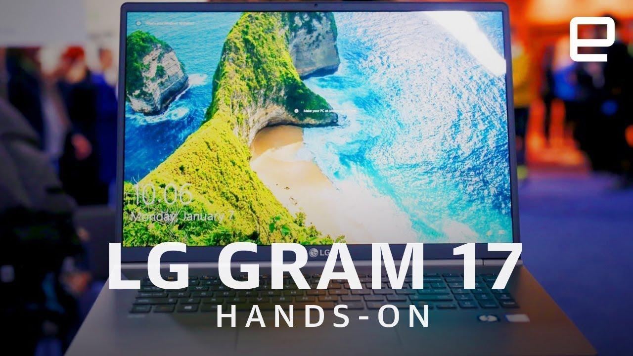 """2019 All new LG gram 17Z990 – World's lightest 17"""" Laptop   LG Gram Laptop"""