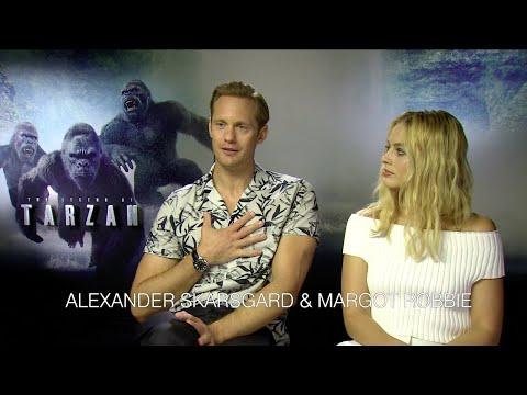 Tarzan: Interview mit Alexander Skarsgard & Margot Robbie