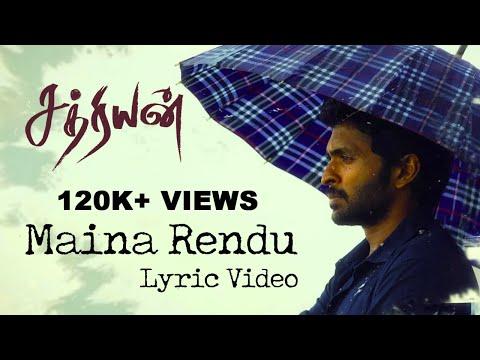 Maina Rendu - Sathriyan | Official Lyric Video | Yuvan Shankar Raja | Vikram Prabhu, Manjima Mohan