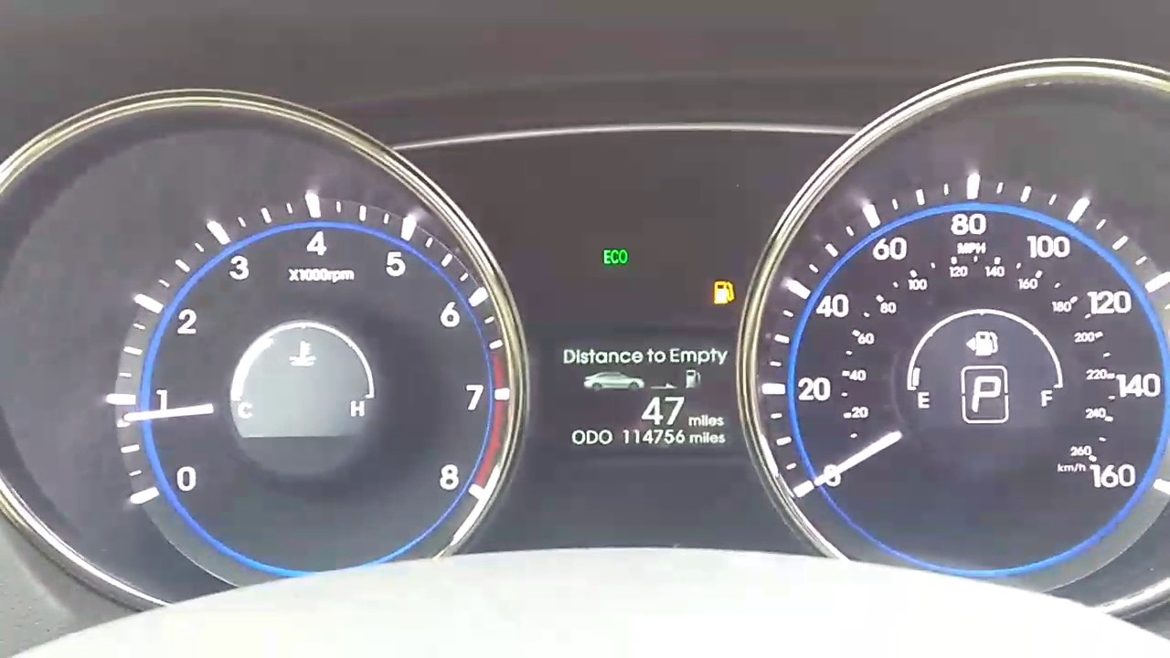 Hyundai Sonata Gas Gauge Fix