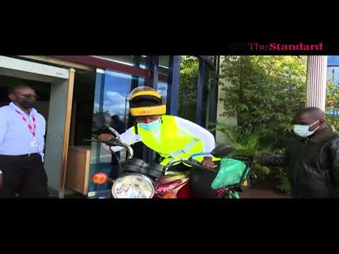 Nairobi woman supplying bread on bicycle gifted motorcycle after the story was featured on KTN News
