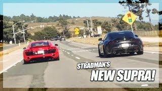 My Audi R8 Meets TheStradman's 2020 Supra!
