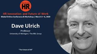 """HR Innovation and Future of Work"" (March, 2020) 