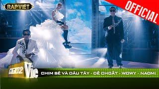 Wowy ôm chặt Dế Choắt nghẹn ngào tại bản rap Chim sẻ Và Dâu Tây cực ý nghĩa | RAP VIỆT [Live Stage]