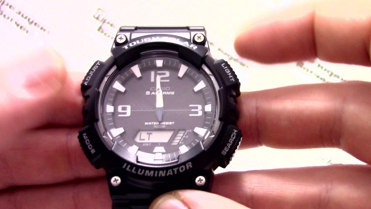 Наручные часы Casio Illuminator