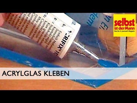 Super Acrylglas kleben - YouTube UJ32