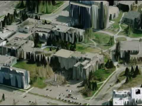 University of Calgary 3D Campus Visualization
