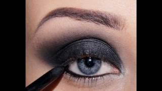 Дымчатый макияж,smoky eyes