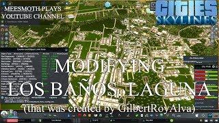 Modifying Los Baños, Laguna (Part 1) - Cities: Skylines - Philippine Cities