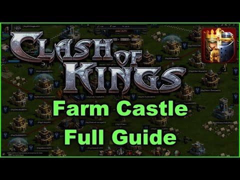 Clash Of Kings Farm Castle Tips (Full Guide) HD