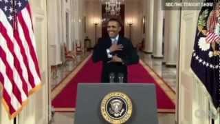 obama dancing at white house