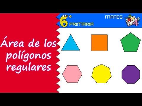 Área-de-polígonos-regulares.-mate,-6º-primaria