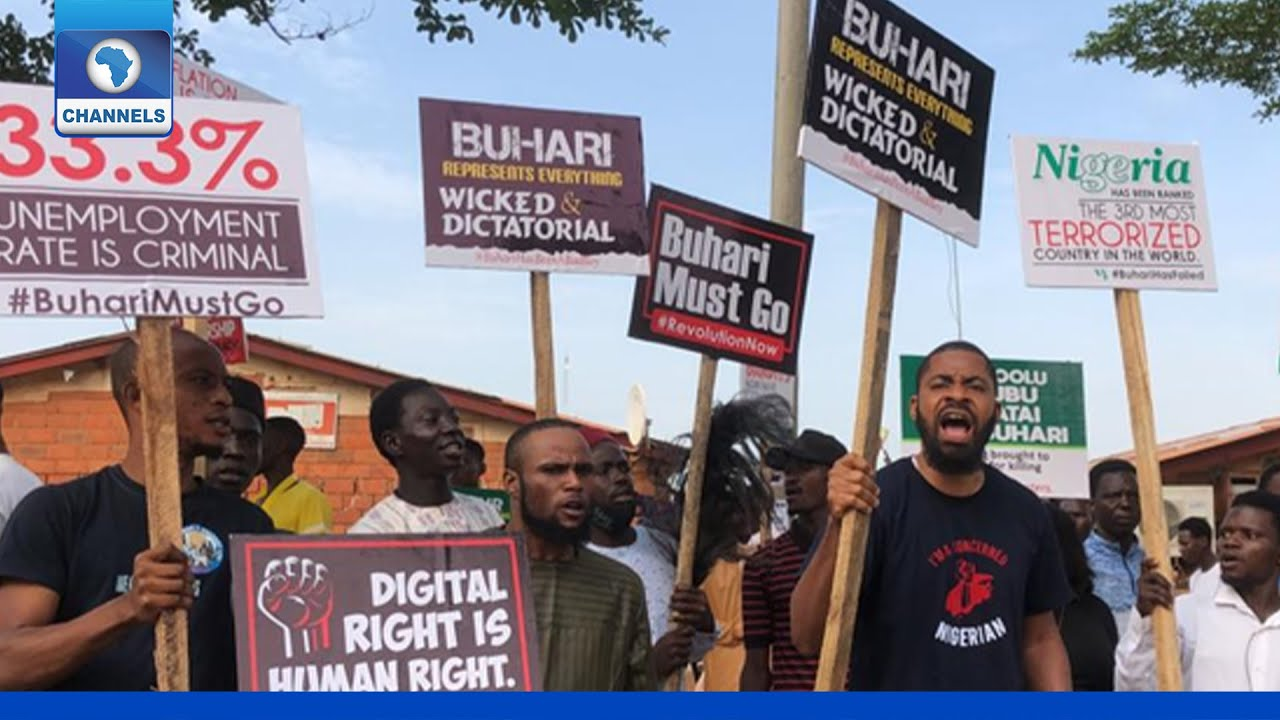Download June 12 Protest: Sowore, Adeyanju Among Protesters In Abuja