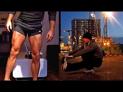 Calisthenics Legs/Glutes Workout - 10-15 Variations for Street/Home/Gym (HD)