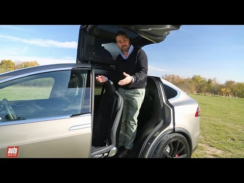 tesla model x 2016 notre essai habitabilit suv 100 lectrique 7 places youtube. Black Bedroom Furniture Sets. Home Design Ideas
