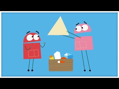 """Triangles,"" Songs About Shapes by StoryBots (""I'm A Triangle"")"