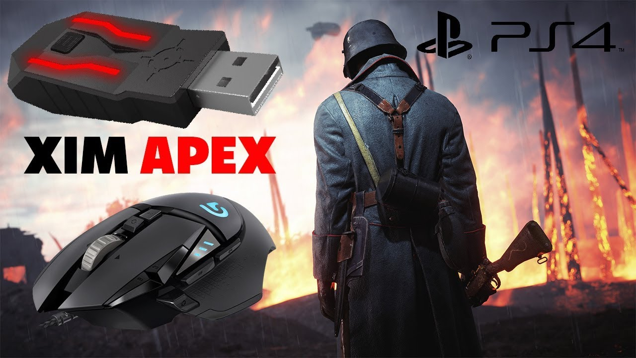 XIM Apex Gameplay BF1 PS4 Keyboard and Mouse