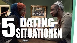 5 dating situations that Muslims know!
