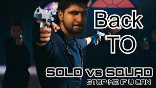 Solo vs Squad RushGamplay in Telugu || HerosGaming