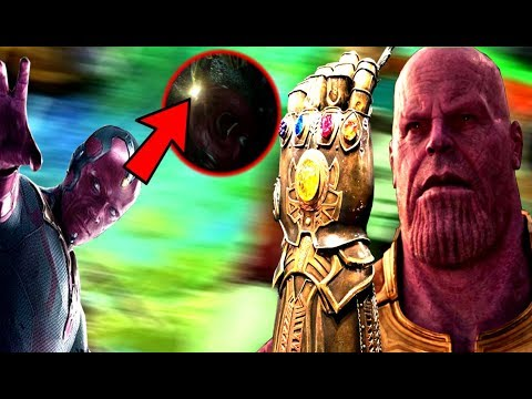 Vision Infinity Stone Death Theory CONFIRMED & Tony Stark Time Theory - Avengers Infinity War