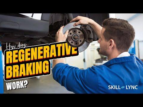 How does Regenerative Braking work? | Skill-Lync