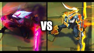 Blood Moon Master Yi vs PROJECT: Yi Legendary vs Epic Skins Comparison (League of Legends)