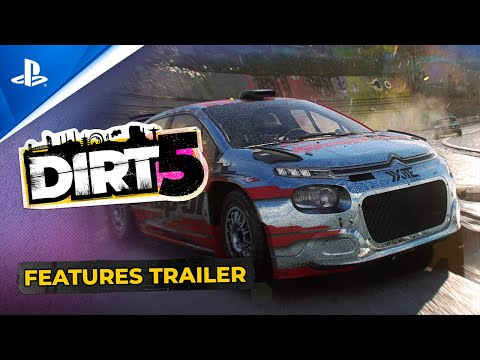 Dirt 5 – Official Features Trailer | PS4, PS5