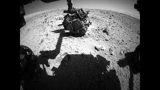 ¡Increible! Curiosity capta OVNI en Marte 2014 -- Imagen 100% real