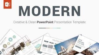 Modern - Best PowerPoint Presentation Template