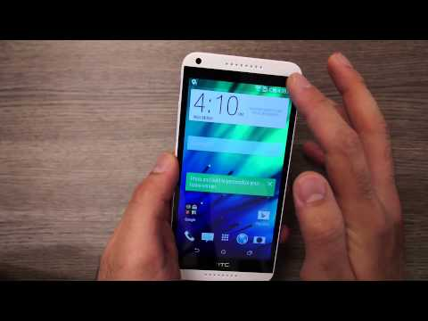 HTC Desire 816 Dual Sim White Unboxing and Hands On