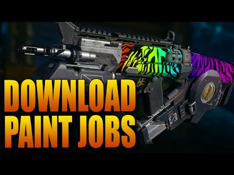 How Do You Download Paint Jobs and Emblems in Black Ops 3?!