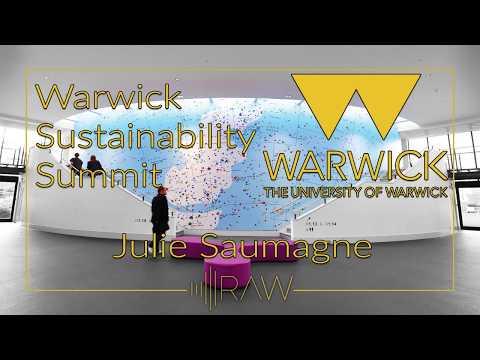 Warwick Sustainability Summit - Julie Saumagne