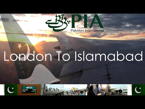 ✈FLIGHT REPORT✈ Pakistan International Airlines (PIA), London To Islamabad, Boeing 777-240ER PK786