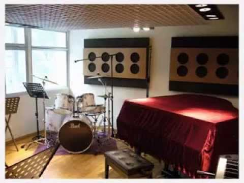 Diy music room decor ideas youtube for Room decorating ideas music