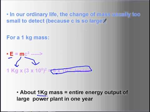 02 Einstein and Mass Energy Equivalence
