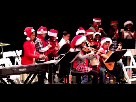 Mary Law Private School 2016 Christmas Concert 6. Greensleeves