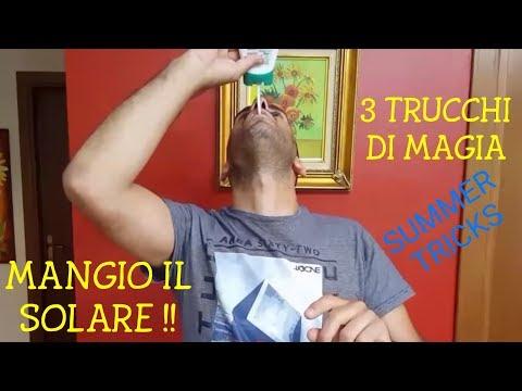 3 TRUCCHI DI MAGIA DA FARE PER L'ESTATE - MANGIO IL SOLARE !!!