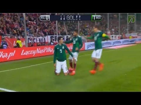 Gol de Raúl Jiménez Polonia vs Mexico 0-1 Amistoso Internacional