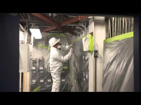 "Spray Foam Green Land Inc. Project for ""ECOLAB"", Mississauga, ON"