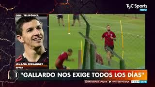 La revelación de Ignacio Fernández: ¿qué lo hace enojar a Marcelo Gallardo en River?
