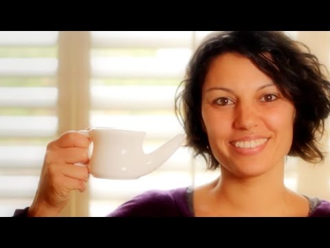 How to Use a Neti Pot or Nasal Rinse Cup