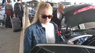 Sophie Turner Back In L.A. To Visit Boyfriend Joe Jonas