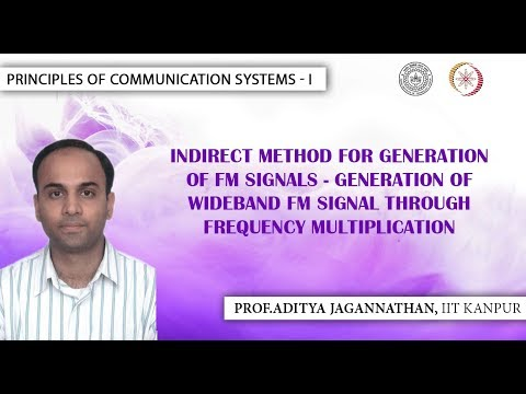 Indirect Method for Generation of FM Signals