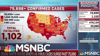 Everyday life continues to change for people across the country as COVID-19 spreads | MSNBC