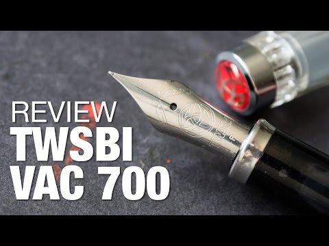 Review: TWSBI Vac 700 Fountain Pen with Vac 20A Ink Bottle