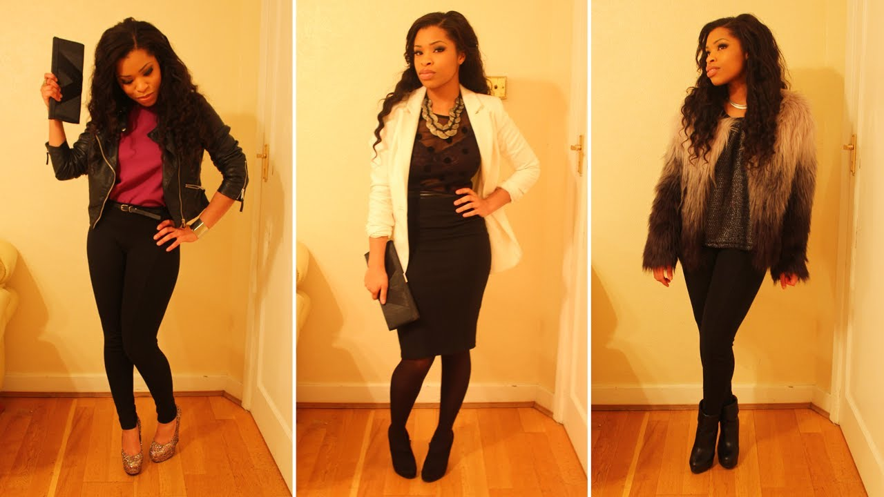 LOOKBOOK New Year's Eve Outfit Ideas YouTube