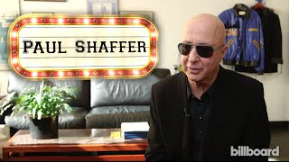 Paul Shaffer: David Letterman