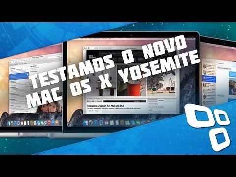 Primeiras impressões: testamos o novo OS X Yosemite [vídeo]